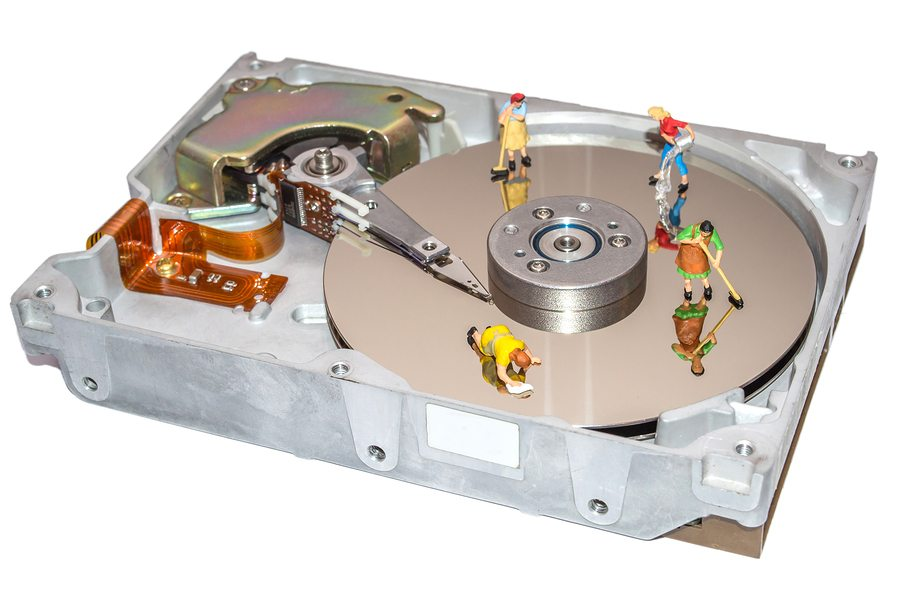 DSGVO und Festplattenlöschung